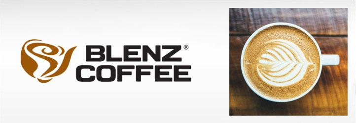 Blenz Coffee Banner